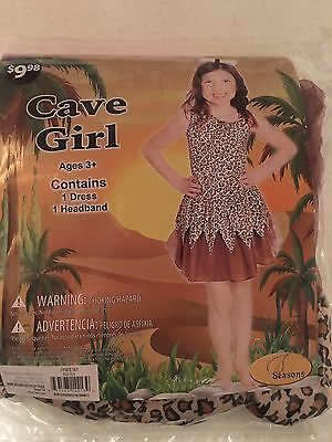 Halloween Costume Girl's Cave Girl Medium or Large