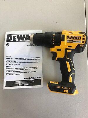 NEW DeWALT DCD777 DCD777B 20V 20 Volt Max Li-Ion 1/2