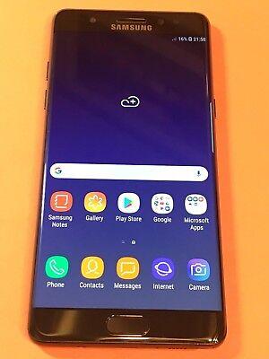 SAMSUNG Galaxy Note Fe Fan Edition SM-N935F/DS Dual Sim Midnight Black Unlocked