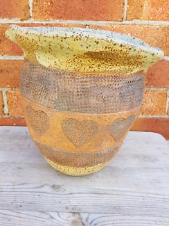 Vintage  hand made plant pot
