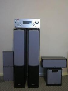 Db Dynamics Polaris Series 5.1 Speakers & Sony Amplifier McMahons Point North Sydney Area Preview