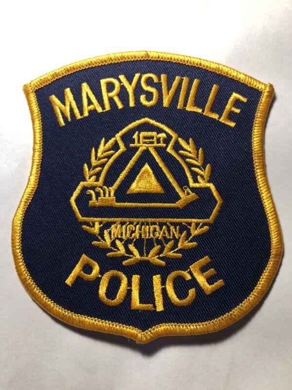Marysville Michigan Police Patch