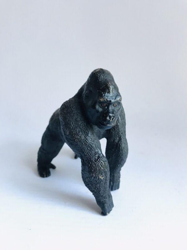 Schleich MALE GORILLA Silverback Adult 2011 Ape Animal Figure 14661