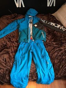 Billabong and special blend snowboard suit