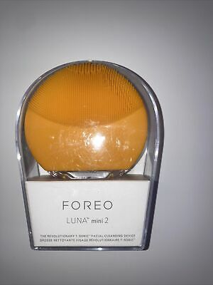 Foreo Luna Mini 2 Facial Cleansing Device Hygenic All Skin Types Yello