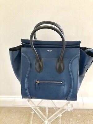 NWOT Celine Blue Luggage Bag - Never Been Worn