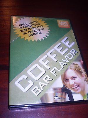 Coffee Bar Flavor Shop Cafe Customer Video Midwest Barista School 2009 Dvd Rare