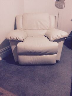 Leather recliner Waverley Eastern Suburbs Preview