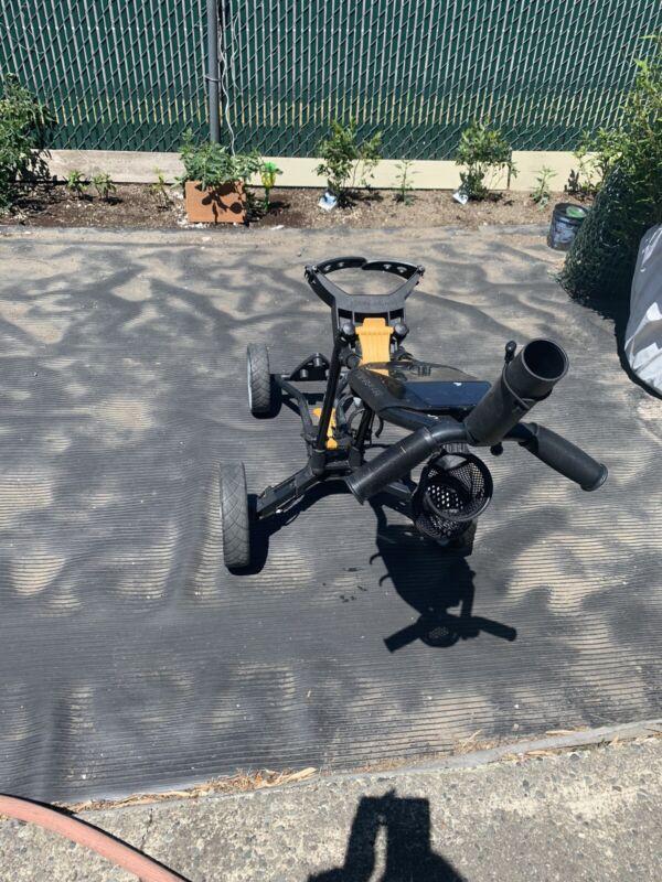 Sun Mountain micro four wheel push golf cart *pls read*