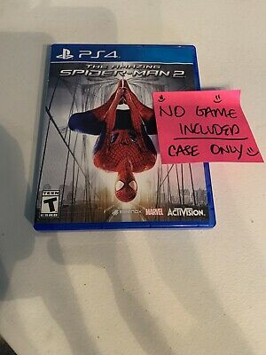 REPLACEMENT CASE PS4 The Amazing Spiderman 2 READ FIRST