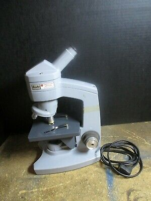 American Optical Microscope Model Sixty.tested Working Nice