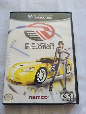 R: Racing Evolution & Pac-Man Vs (Nintendo GameCube) 2 Disc COMBO COMPLETE F/Shi