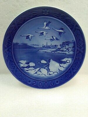 2006 ~ Royal Copenhagen ~7 1/4 Inch ~ Christmas Plate ~ Flawless