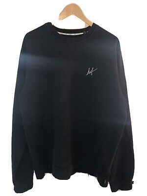 HUF Black Sweatshirt - XL Oversized