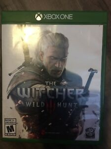 The Witcher Hunt 3 Xbox one