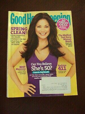 Good Housekeeping ~ April 2010 ~ Spring Clean!,Best Mascaras,Fashion 101, Bin