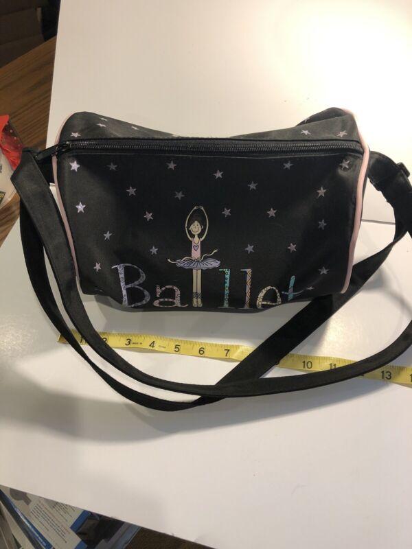 BALLET BAG black and pink