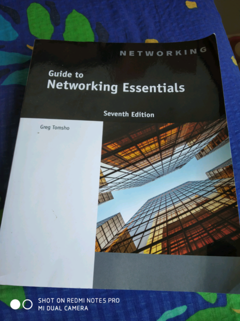 Guide To Networking Essentials 7th Edition Textbooks Gumtree
