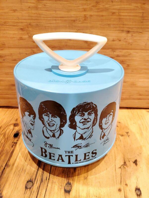 Beatles-Blue Disk-Go-Case 45 Record Holder -1966
