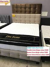 Brand New Linen Fabric/Velvet Fabric Bed Double/Queen size Clayton South Kingston Area Preview