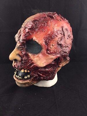 Blutig Gesicht Zombie - Gothik Halloween Kostüm Deluxe Cosplay Maske - Blutiges Gesicht Kostüm