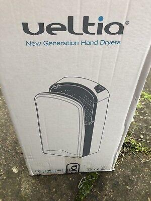 Veltia V7  White Electric New Generation High Speed  Hand Dryer