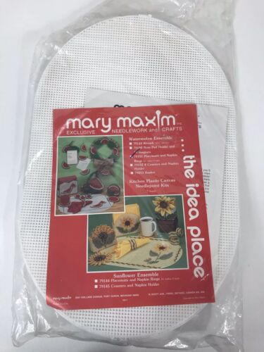 Mary Maxim Plastic Canvas Kit Watermelon Ensemble 79151~4 Pl