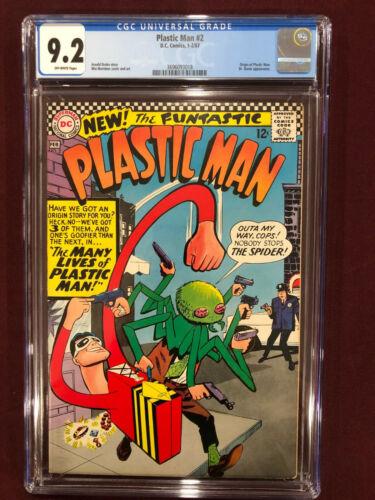 PLASTIC MAN 2 CGC 9.2 1967