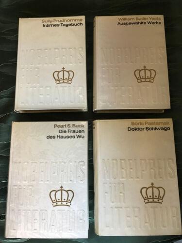 66 x Sammelband Nobelpreis für Literatur 1901 - 1971
