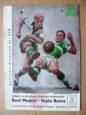1959 European Cup Final- Real Madrid v Stade Reims (Original*)
