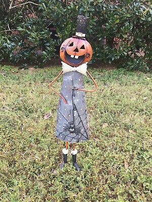 Metal Mischief Figurine Art Decor Halloween Indoor Outdoor Home Decoration