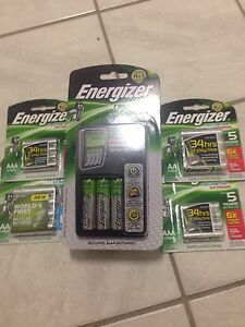 Battery charger plus batteries Trigg Stirling Area Preview
