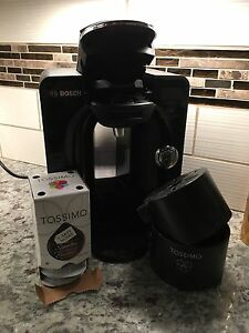 Tassimo Machine. Bosch Tassimo coffee machine.