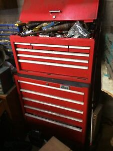 Tool box and miscellaneous tools