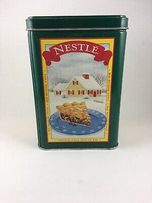 Vintage Nestle Toll House Limited Edition Four Seasons Metal Tin