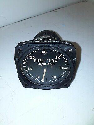 1x fuel flow gauge 6a 4645