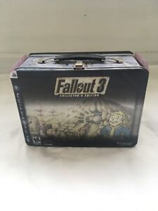 Authentic Fallout 3 Collectors Edition NEW with lunchbox
