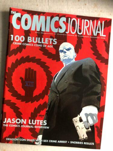 Fanzine COMICS JOURNAL #228 - Jason Lutes & 100 Bullets