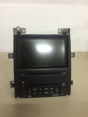 07 CADILLAC ESCALADE ESV RADIO AUDIO RECEIVER NAVIGATION SCREEN DISPLAY 15916596