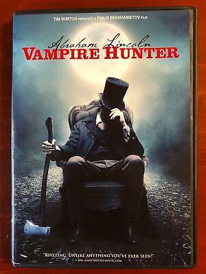 Abraham Lincoln Vampire Hunter (DVD, 2012) - F0224](Vampire Abraham Lincoln Hunter)
