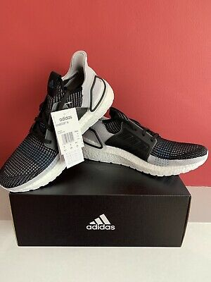 Adidas Ultra Boost 19 Size U.K. 10 Black Grey BRAND NEW WITH BOX!