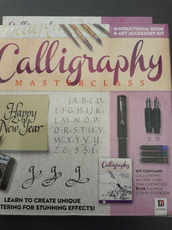 New, Open Box,  Calligraphy Set