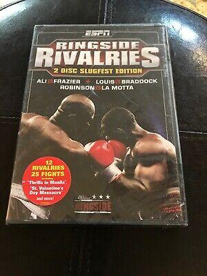 ESPN Ringside Rivalries DVD Boxing Thrilla in Manila Muhammad Ali Joe Frazier
