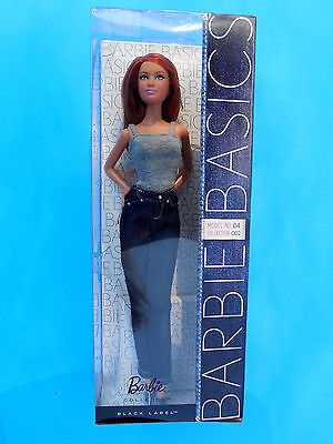Barbie Basics Model #04 Collection 002 Red Hair Model Muse Doll NEW!
