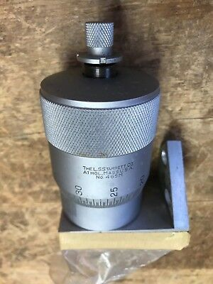 Starrett Micrometer Head - Metric - 465m - .002mm With Base