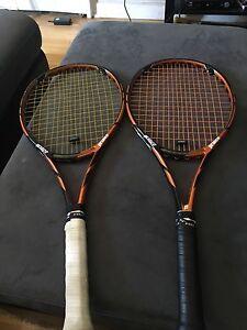 2 raquettes prince à vendre