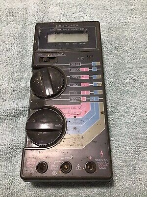Radio Shack Micronta 22-185a Multimeter Parts Only