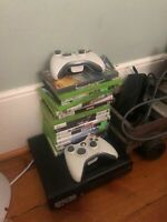 Xbox 360 with 16 games