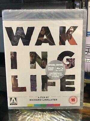 Waking Life BLU-RAY/DVD ARROW VIDEO Richard Linklater, ZONE B NEW BOOKLET  - $32.98