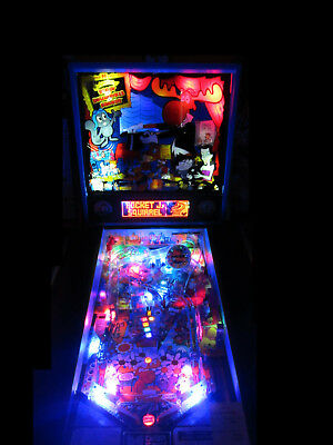 ROCKY and BULLWINKLE Complete LED Lighting Kit SUPER BRIGHT PINBALL LED KIT